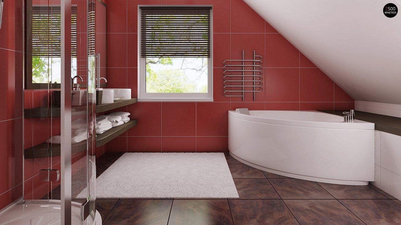 Фото дизайн ремонт мансардной ванной комнаты